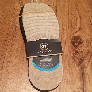 Goldtoe no show socks